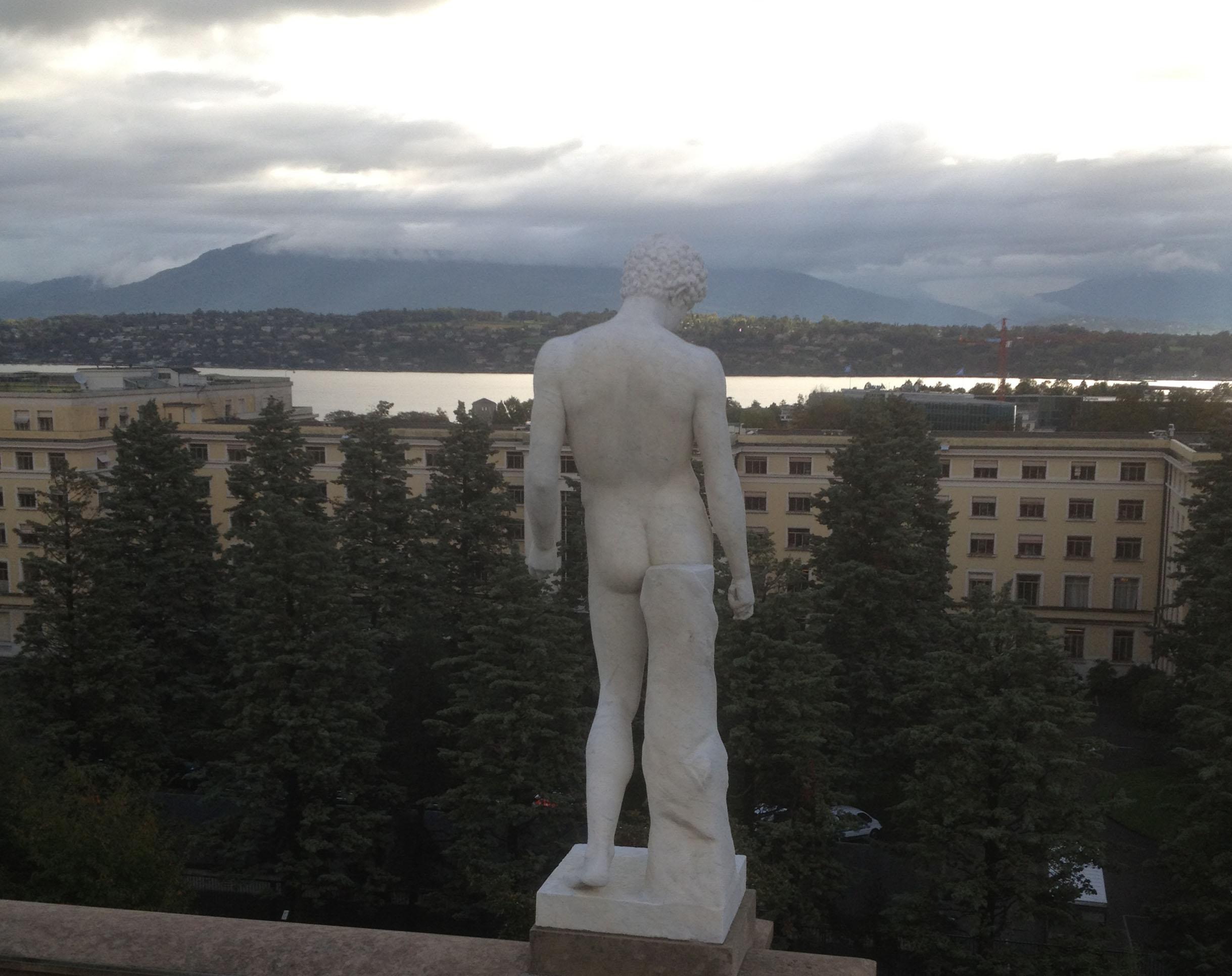 marbre homme dos